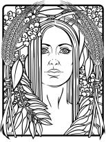 Wheat Goddess