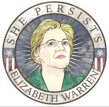 Elisabeth Warren 'She Perists'
