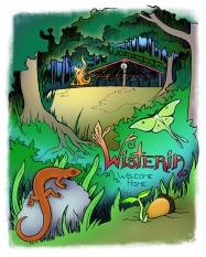Wisteria Event Site Poster